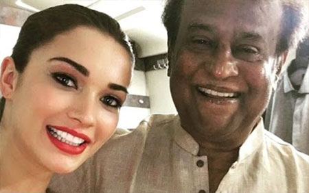 2.0 actor Amy Jackson: Rajinikanth Sir is so Calm, I'm Like This little Grl in Front Of Him