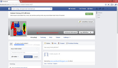 Cara terbaru Membuat Akun Facebook Tanpa Nama Cara Membuat Akun Fb Hantu , Cara bikin akun facebook tanpa nama , kosong , blank