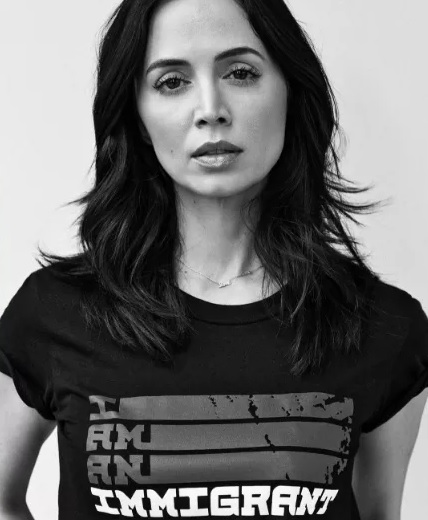 "Eliza Dushku does not forget her origin, joins the initiative ""I am immigrant"""
