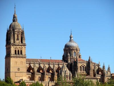 Catedral Nueva; Salamanca; Castilla y León; Vía de la Plata