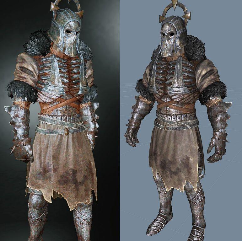 Witcher 3 caranthir armor eskyrim - Caranthir witcher ...