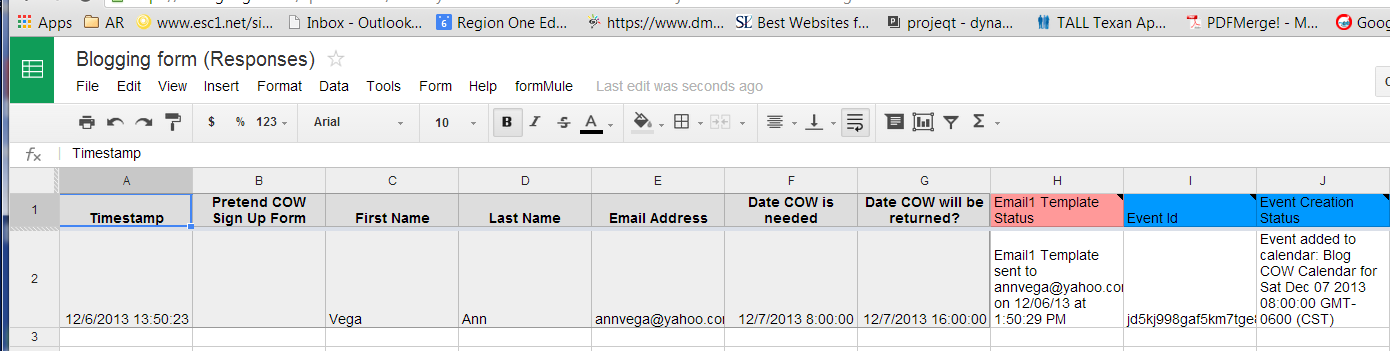 Librarians on the Fly: Creating Google Calendar Appointments from