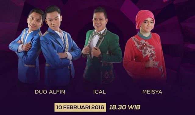 Peserta Dangdut Academy 3 yang Tersenggol Tgl 10 Februari 2016
