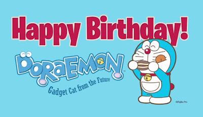 Gambar Kartu Ucapan Ulang Tahun Doraemon Happy Birthday Pics