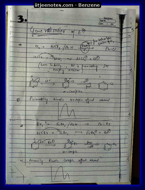 Benzene Notes3