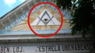 Simbolo maçônico na Universal