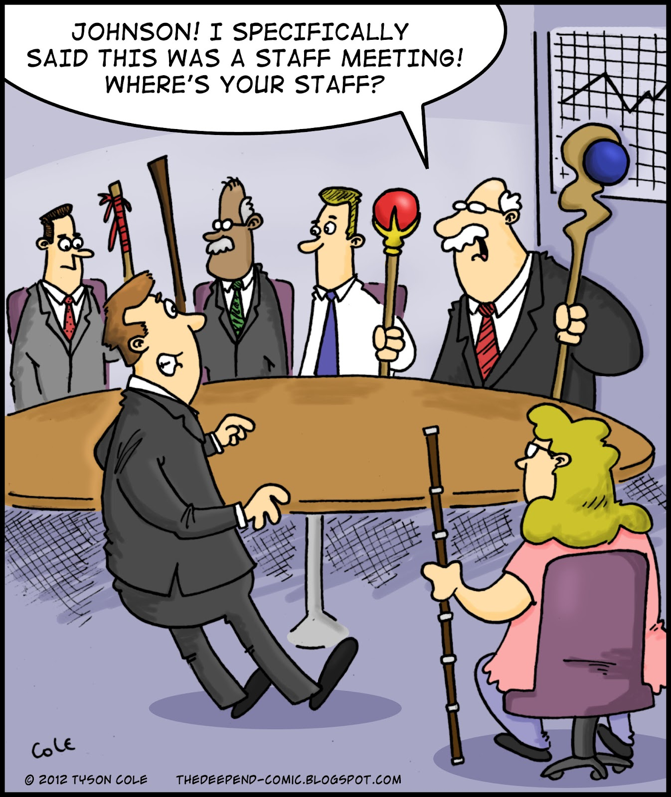 The Deep End: Staff Meeting