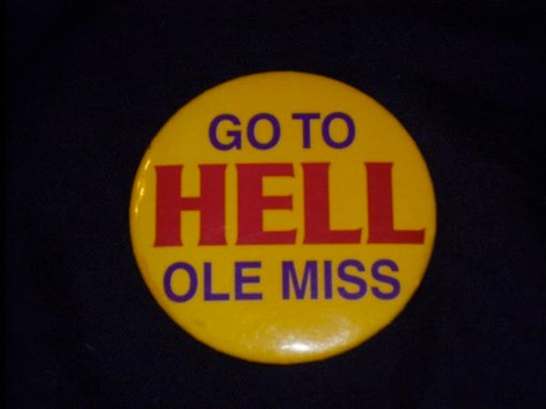Five for Friday-Geaux to hell Ole Miss!
