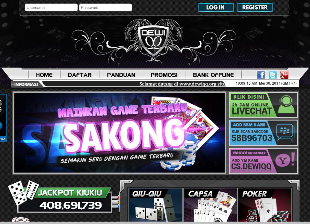 DewiQQ Agen Poker dan DominoQ Terbaik dan terpercaya