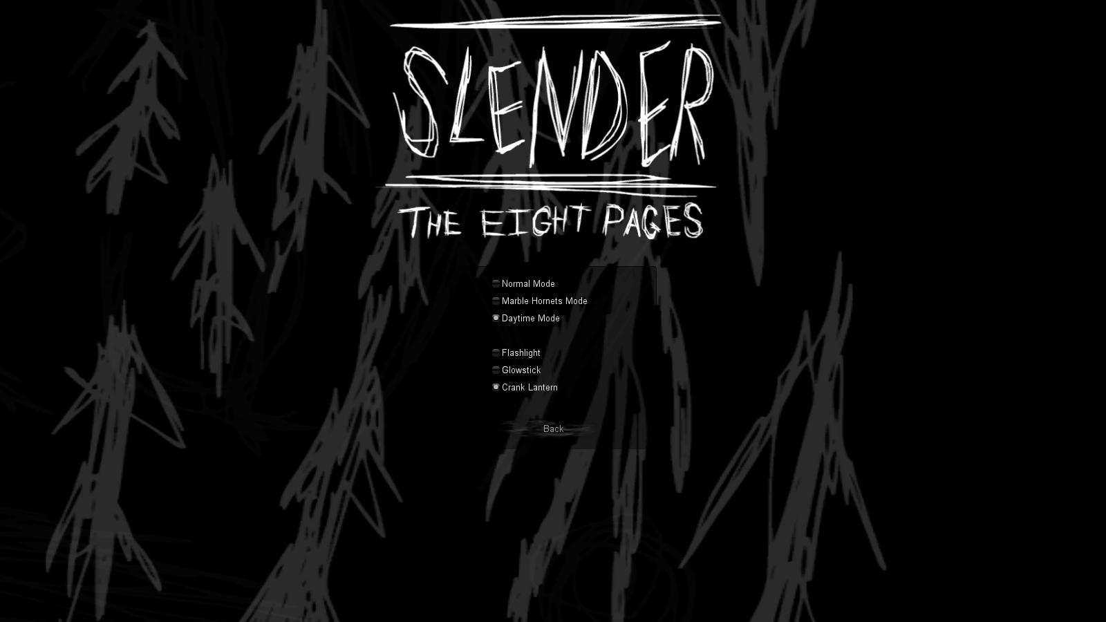 Slender 8 Pages
