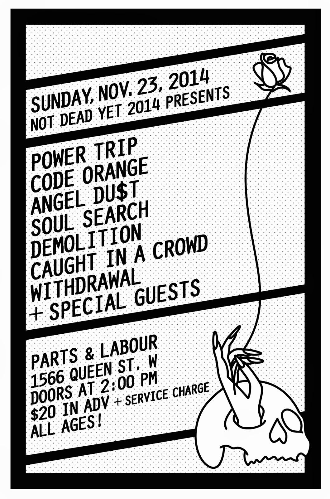Flyer sunday november 23rd 2014