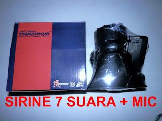 Sirine 7 modul suara + MIC
