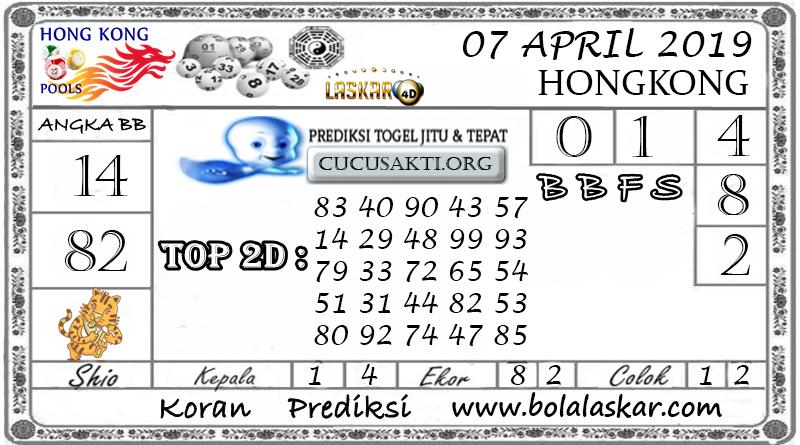 Prediksi Togel HONGKONG LASKAR4D 07 APRIL 2019