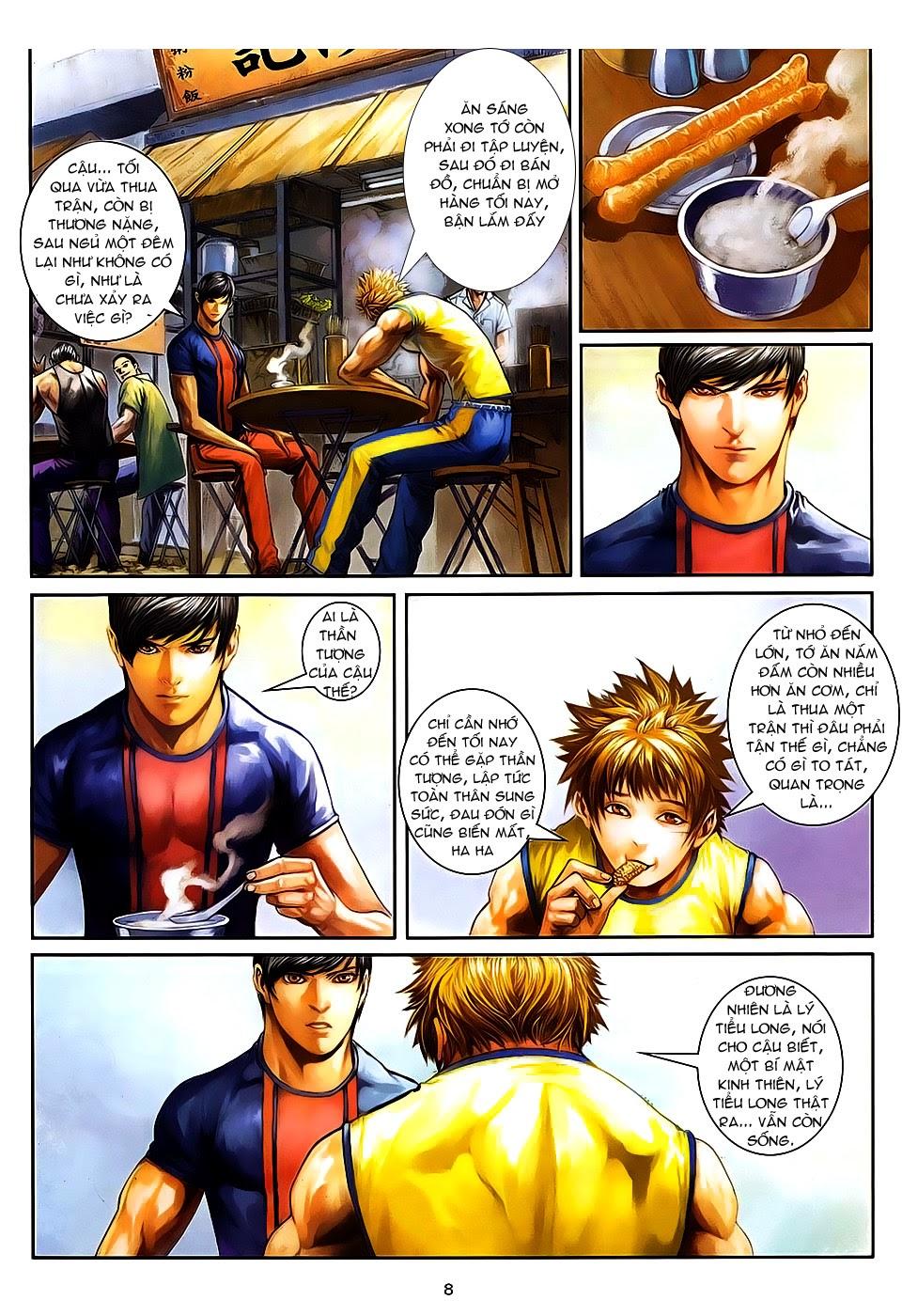 Quyền Đạo chapter 8 trang 8