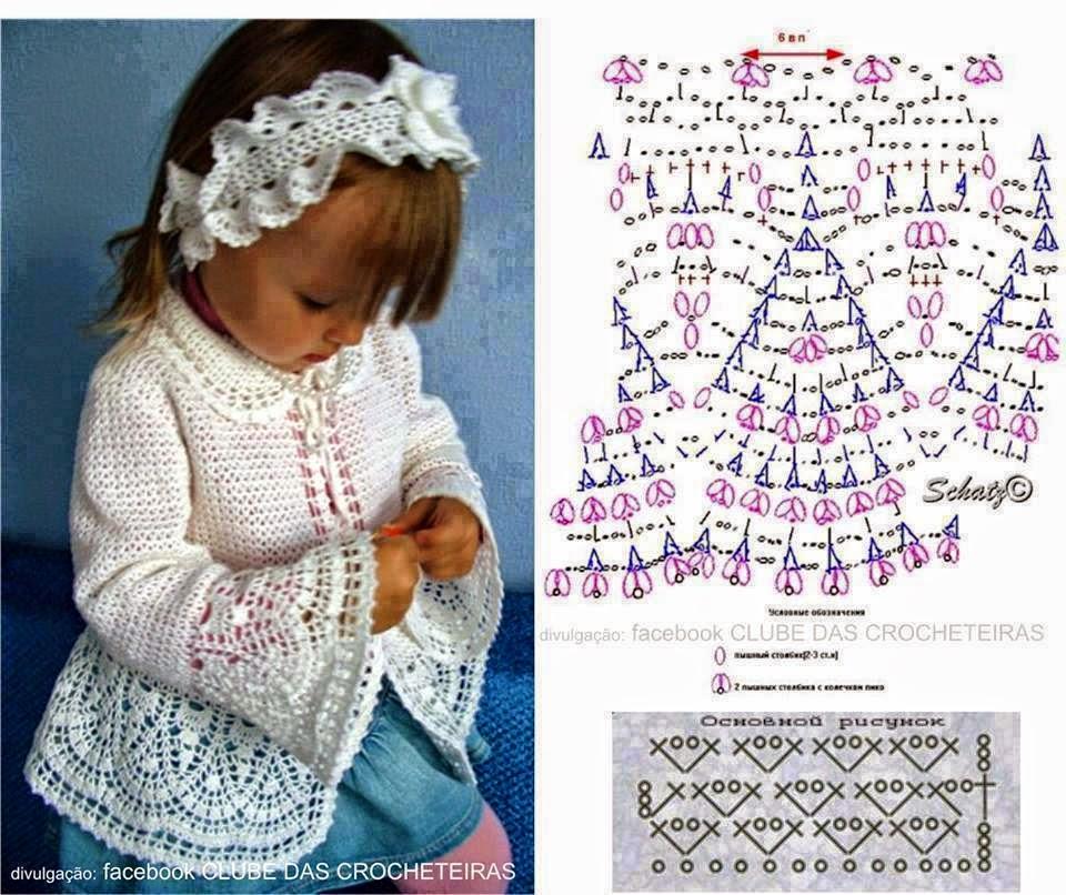 Excepcional Niñas Suéter Patrón De Ganchillo Modelo - Ideas de ...