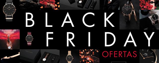 Daniel Wellington: ¡Súperdescuentos Black Friday  2018!.