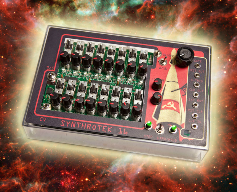 MATRIXSYNTH: Synthrotek 16 Step Analog Sequencer w/ Space