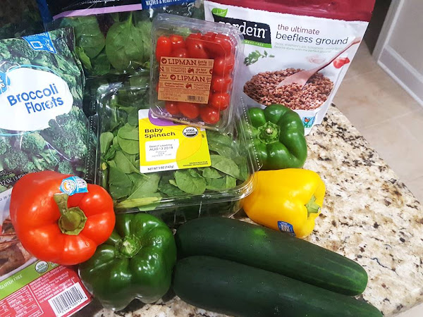 Vegetarian Weekly Grocery Haul