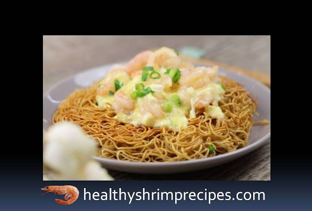 Easy Shrimp with eggs attached recipe