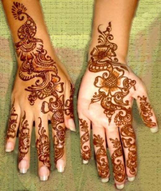75 Beautiful Mehndi Designs Henna Hand Art: Mehndi Designs For Hands : Beautiful Mehndi Designs For Hands