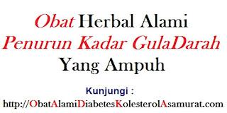 Obat herbal alami penurun kadar gula darah yang ampuhan