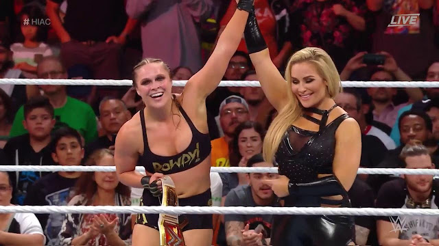 WWE Hell In A Cell 2018  Ronda Rousey (c) Def. Alexa Bliss