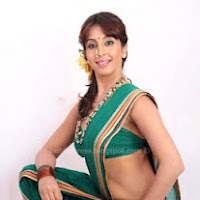 Hot sanjana hot in saree pics