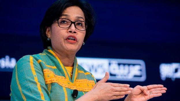 Menteri Keuangan Indonesia, Sri Mulyani, yakin tingkat ULN Indonesia masih dalam batas aman - Foto: AFP / Tribun Medan