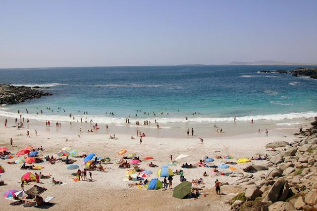 Praia La Virgen no Chile