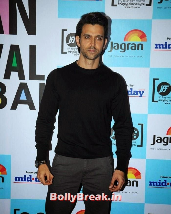 Hrithik Roshan, 5th Jagran Film Festival Red Carpet Pics