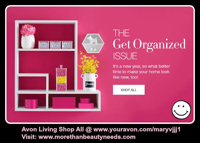 Click On Image To Shop Avon Living The Get Organized Issue >>>