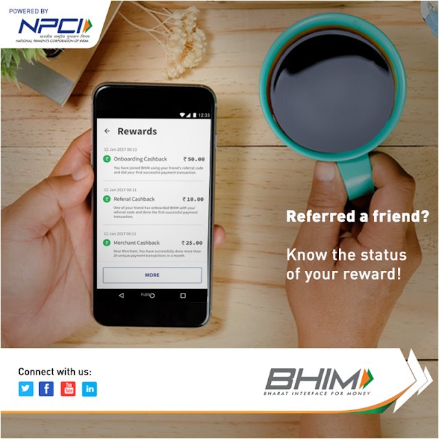 BHIM APP: How to Participate in Referral Bonus Scheme for Individuals and Cashback Scheme for Merchants