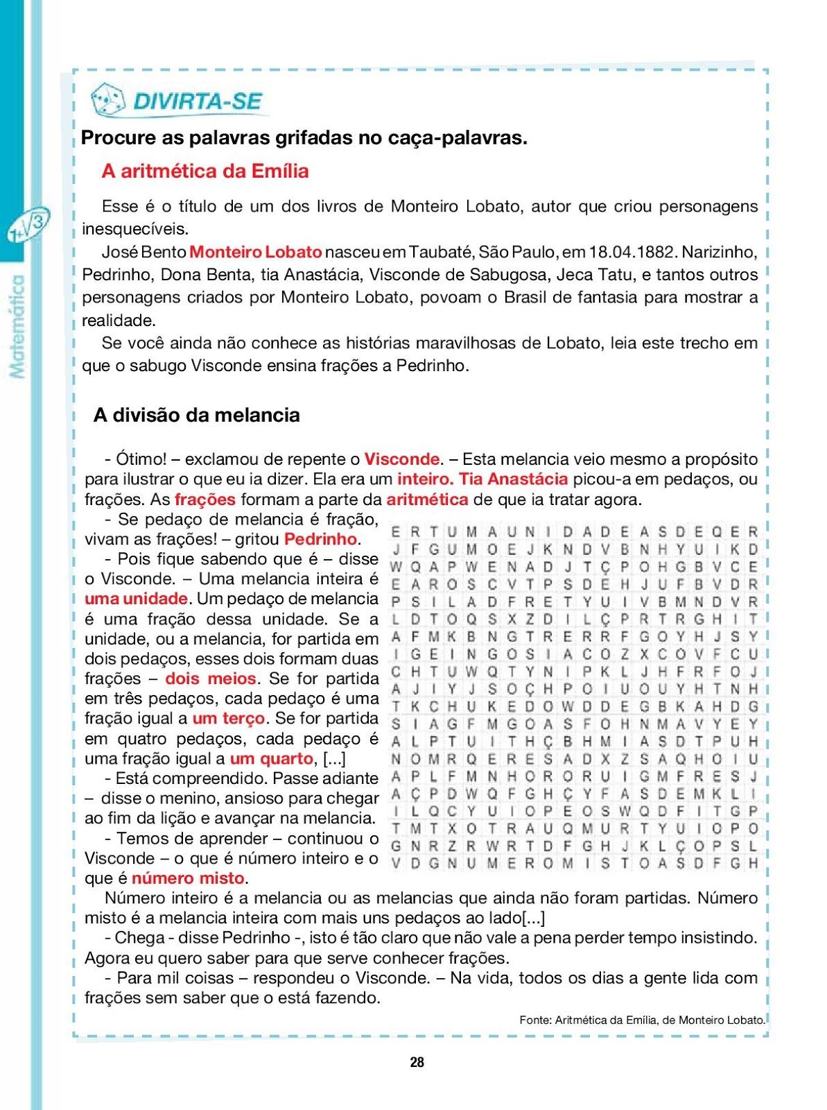 Portal Escola Matematica 6 Ano Atividades Avaliacoes Provas Testes Exercicios Para Imprimir Xxi