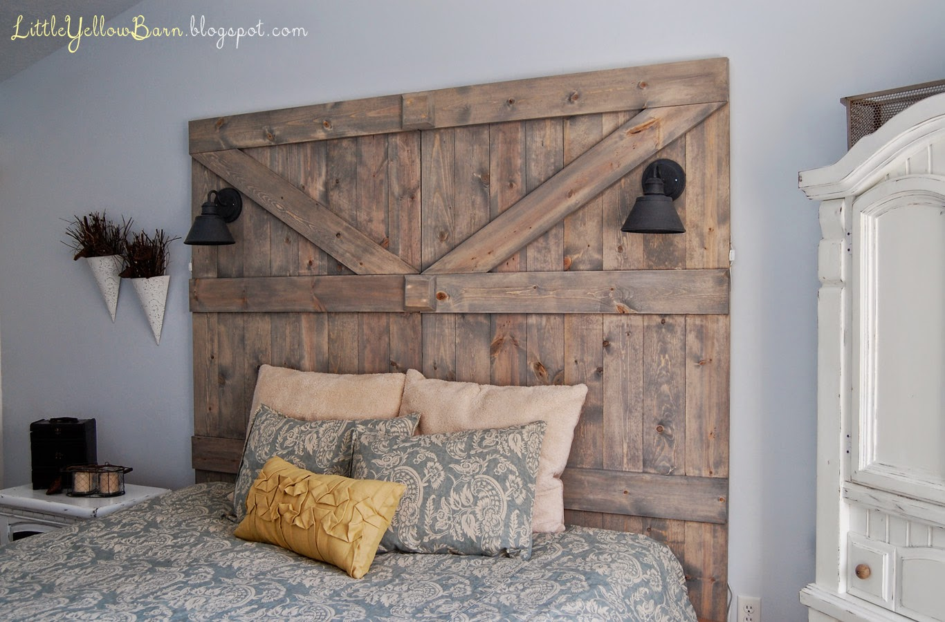 The Cookie Puzzle 10 Diy Rustic Headboards