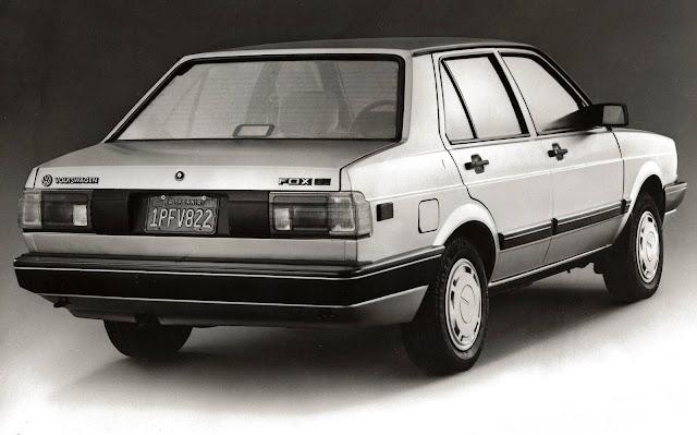 VW Voyage Fox 1987