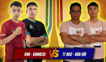U98 - Kamachi vs Tiểu Thủy Ngư - Hòa Hải | 2vs2 Assy | 25/05/2021