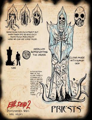 Evil Dead 2: Doppleganger Wars, prete