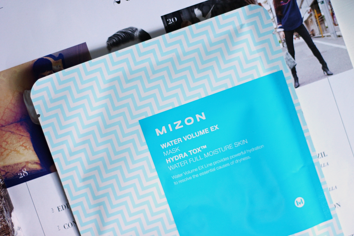 mizon water volume ex mask recenzija