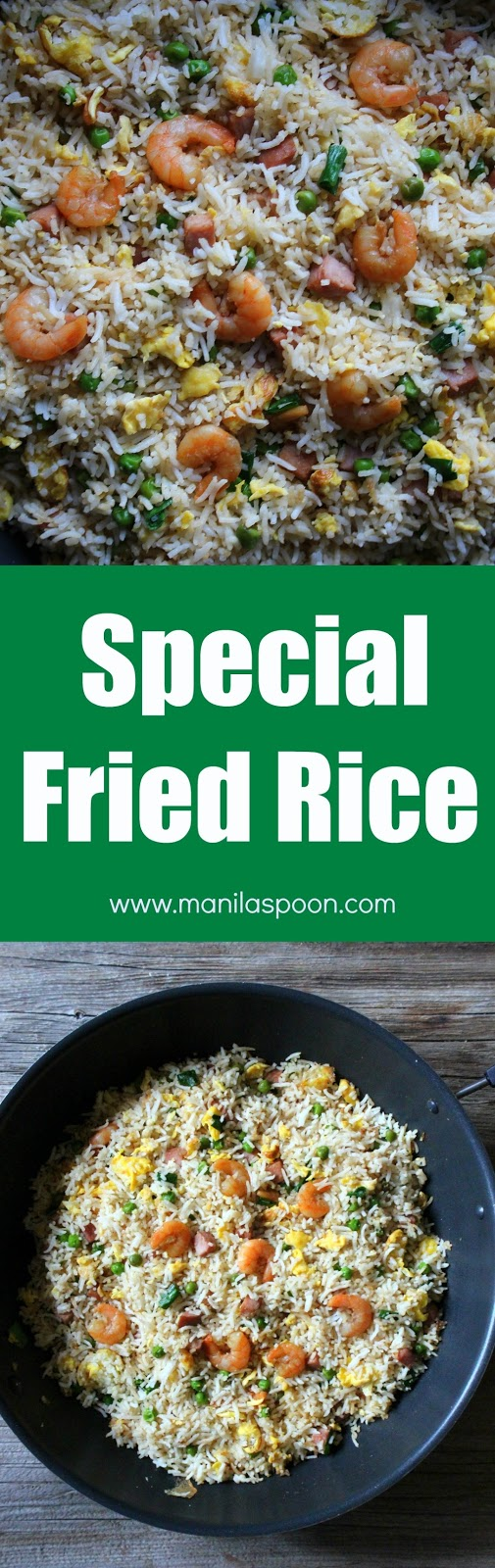 Special Fried Rice - Manila Spoon