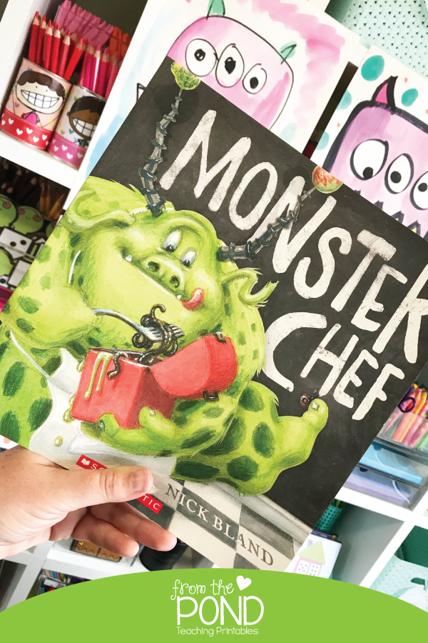Monster Chef Book