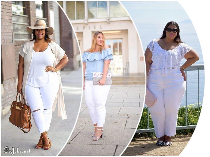 7c34e966 ¿Las gorditas podemos usar jeans blancos?