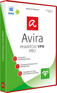 Avira Phantom VPN Pro - Secure your Internet connection and bypass website and service restrictions.