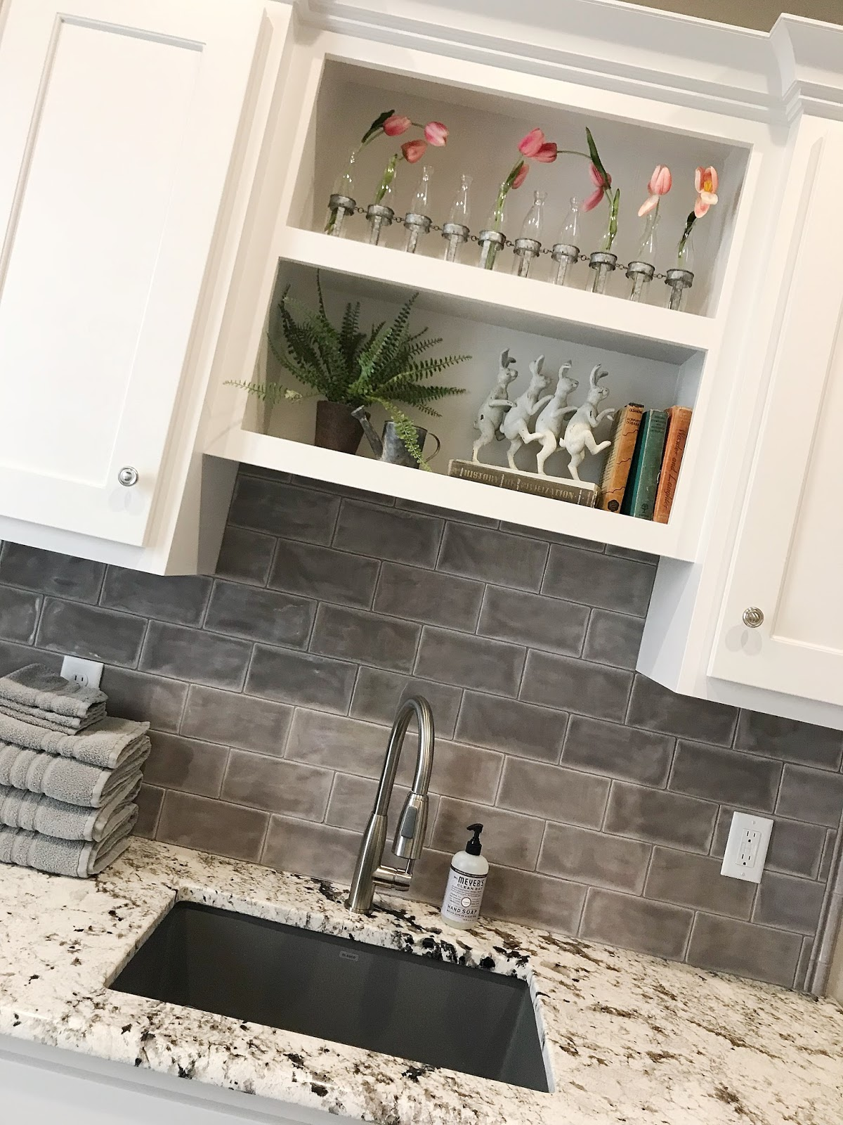 When We Were Picking Out Our Tile And Backsplash, Using This In Here Was An  Easy Decision For Me. I Had Seen It Installed Before So I Knew I Would Love  What ...