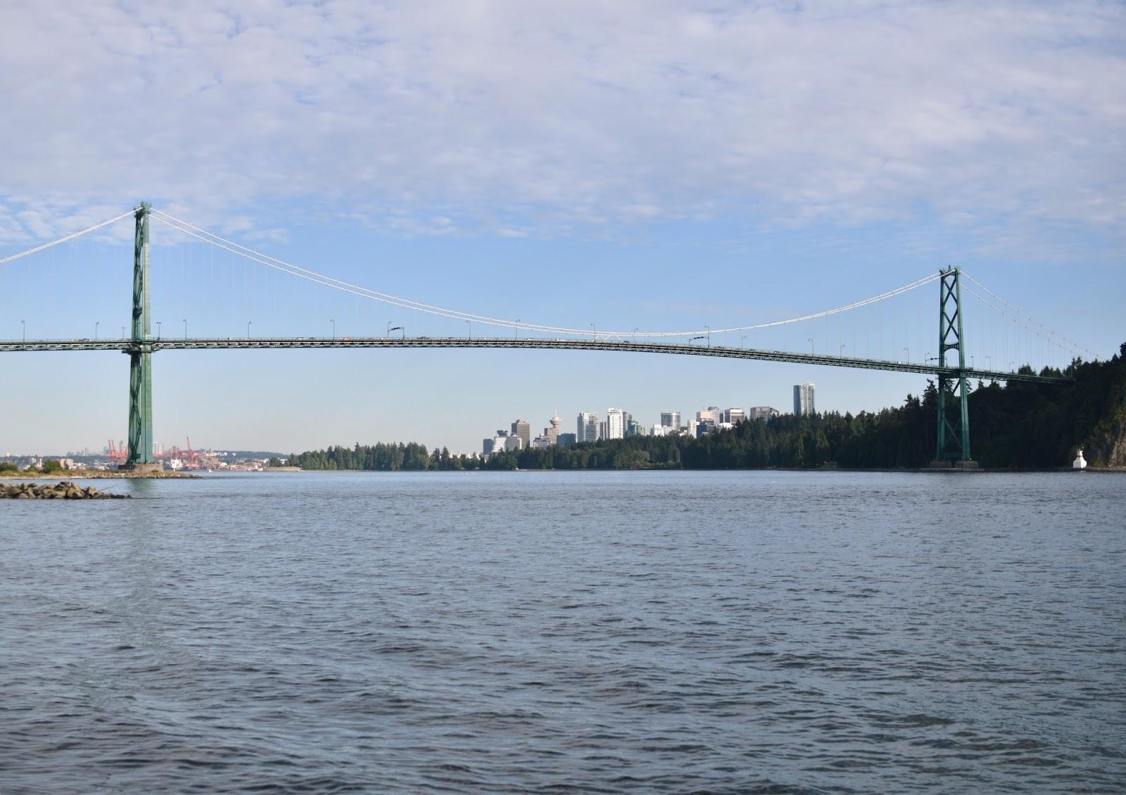 Lions Gate Bridge, Vancouver, British Columbia, Canada