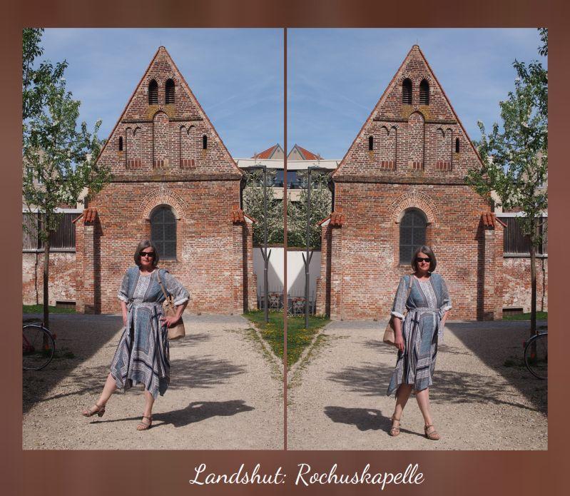 Ostermontag 2019 Sommerkleid Rochuskapelle in Landshut