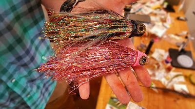in the spread fishing musky flies fly tying chad bryson