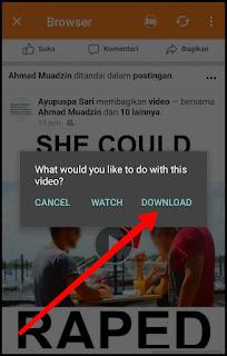 Cara Download Video Facebook di Hp Android, Tanpa Aplikasi serta Menggunakan Aplikasi 8