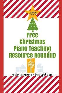 Piano Teaching Christmas