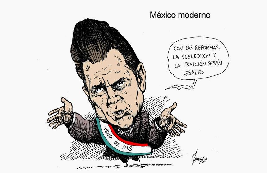 Resultado de imagen para mexico va para atras caricatura