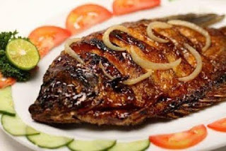 Recipes grilled fish Seasoning Gurame lime leaves